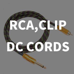 Clip/RCA Cords